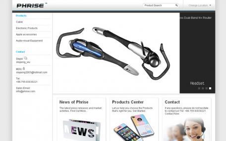 iWhiteCMS白色主题简洁企业网站Phpcms模板