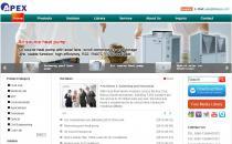 Apex外贸公司英文网站Phpcms蓝色企业模板