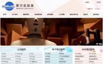 iBlueLab蓝色简洁中英文Phpcms企业网站模板