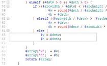Phpcms V9缩略图裁剪存在黑边的解决方法