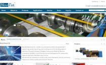 iBlueTrade蓝色机械外贸企业英文网站模板