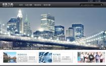 ibmBlack黑色大气IT科技集团企业模板