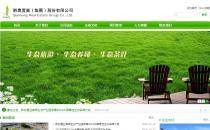 GreenService绿色简洁服务型企业网站定制