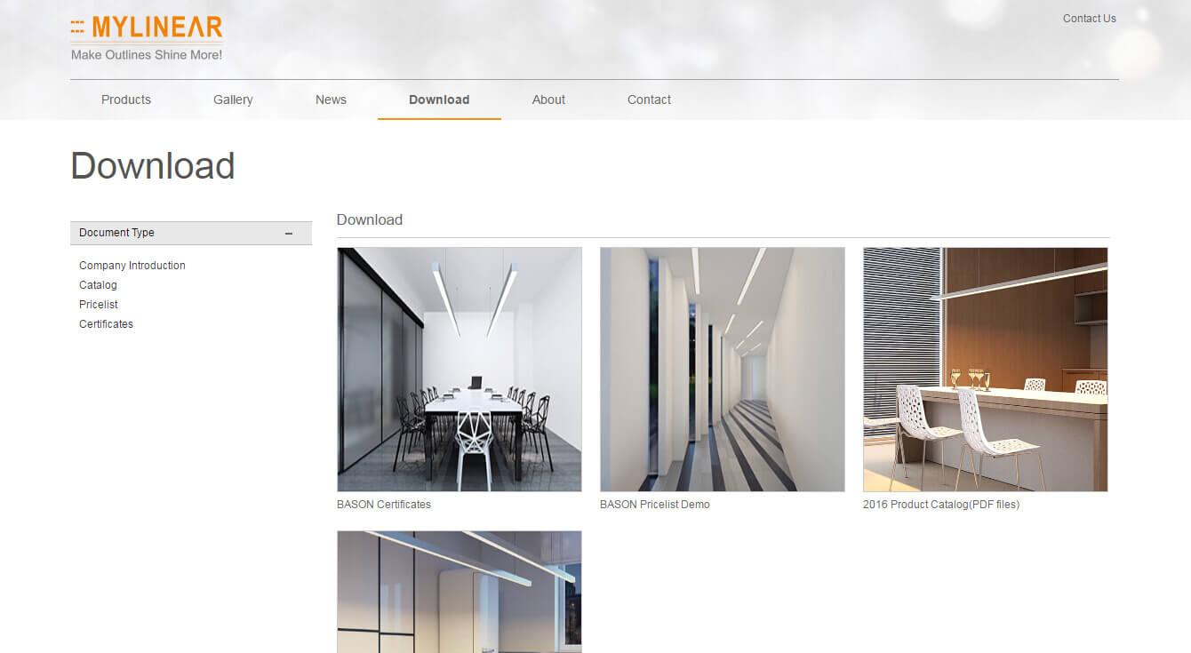 iOrangeLight橙色产品展示企业网站定制