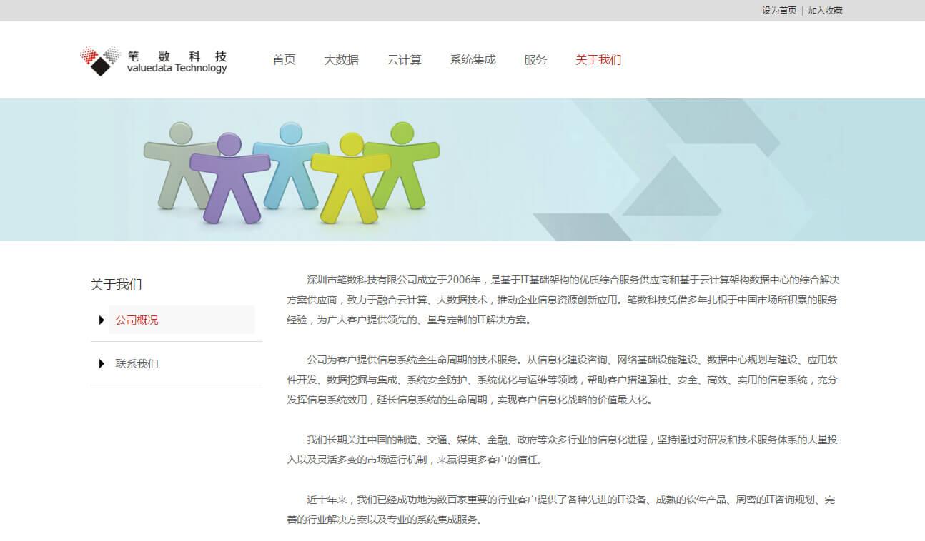 iWhiteData白色简洁企业网站模板_003