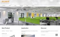 iOrangeLight橙色产品展示英文企业网站定制