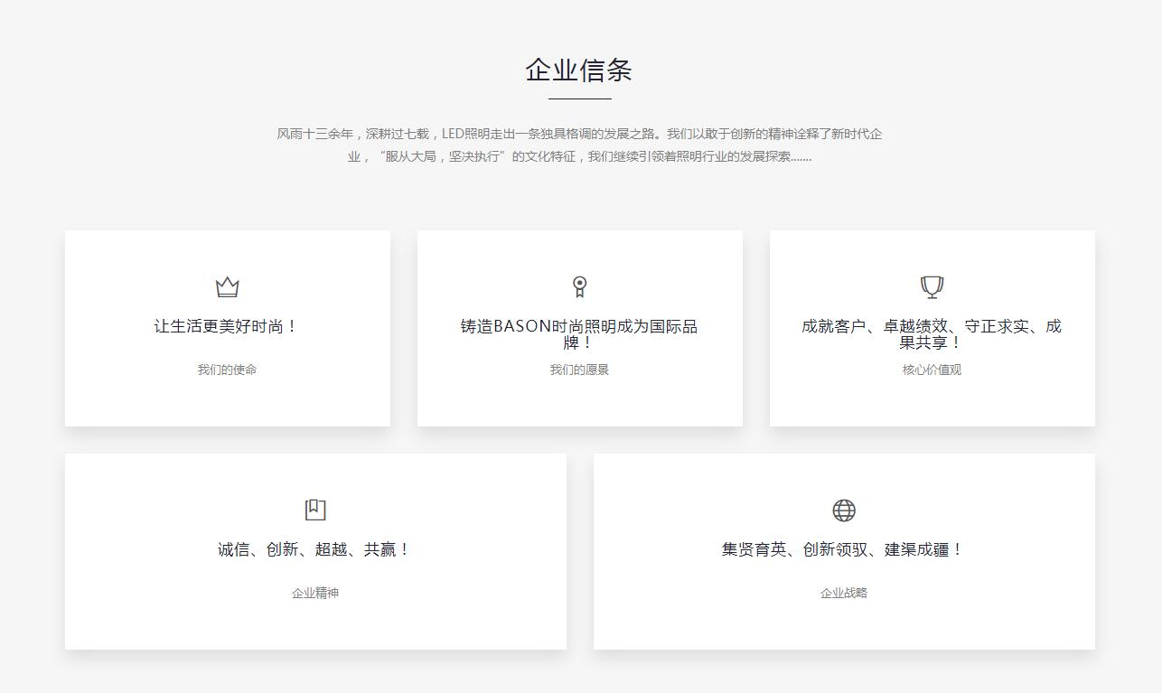 iWResponsiveShow自适应产品展示网站定制