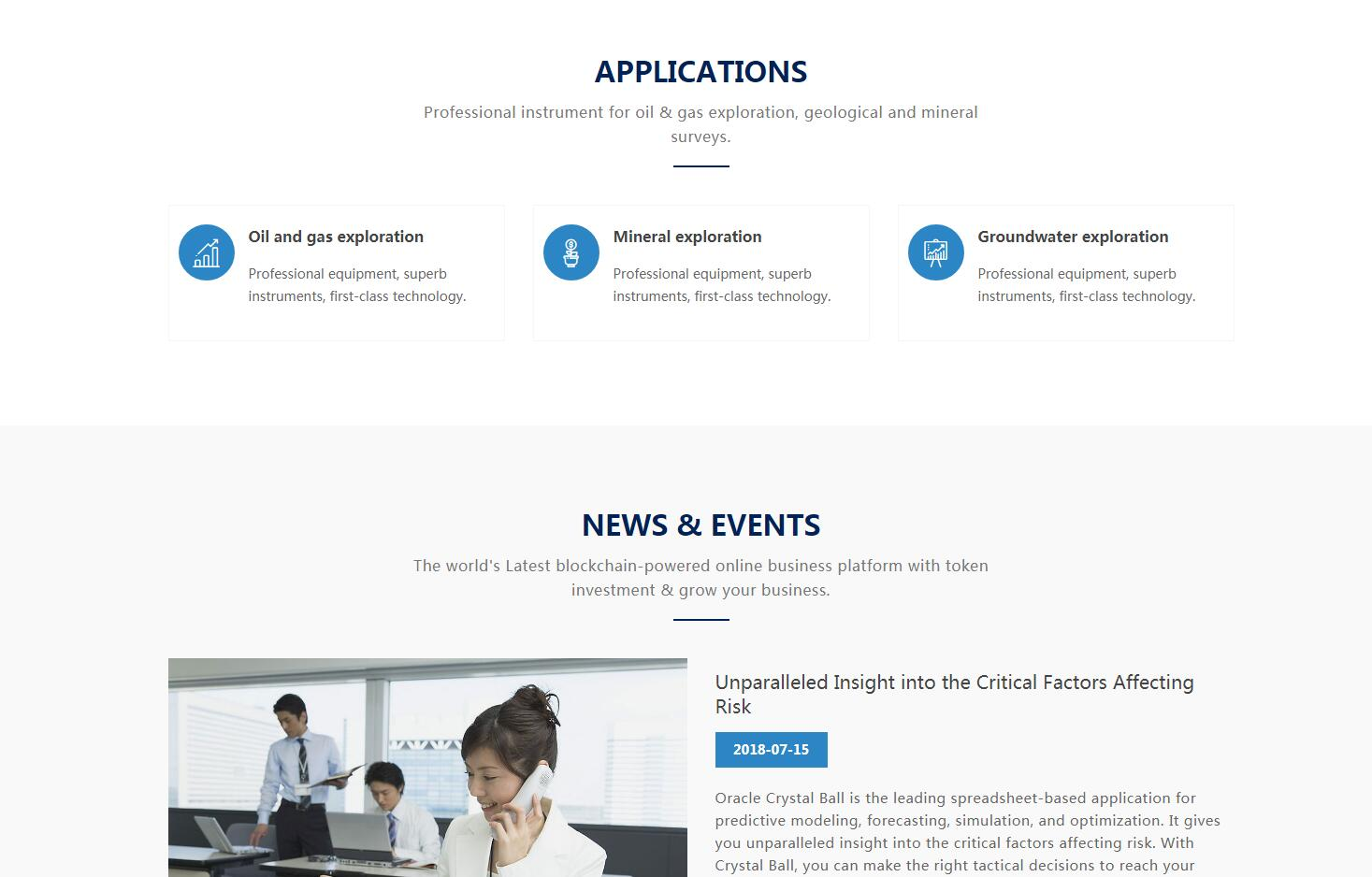 iBlueBootstrap自适应企业网站定制_003