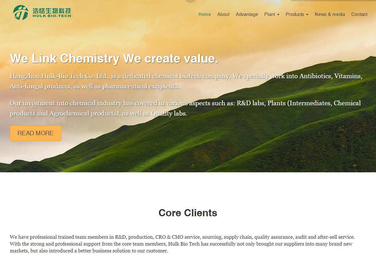 iGreenBioTec英文外贸自适应企业网站定制