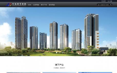 圳通投资控股集团企业网站定制